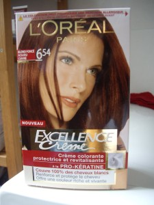 Inspiration coloration cheveux excellence loréal