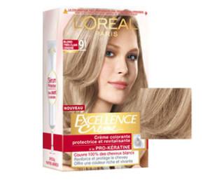 Tendance : coloration cheveux excellence loréal