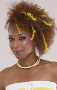 Exemple coloration cheveux femme noire