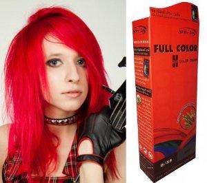 Idée coloration cheveux gothique