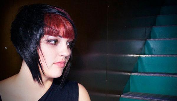 coloration cheveux gothique