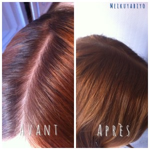 Tendance : coloration cheveux gras