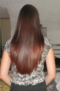 Mode pour femme : coloration cheveux henné bio