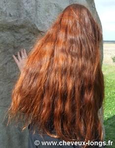 Belle coloration cheveux henné bio pour femme