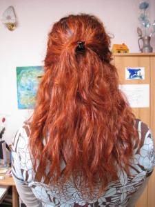 Jolie coloration cheveux henné bio