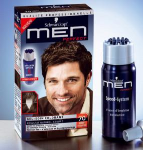 Exemple coloration cheveux homme