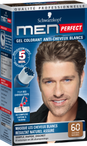 Quelle coloration cheveux homme