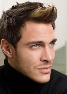 Jolie coloration cheveux homme