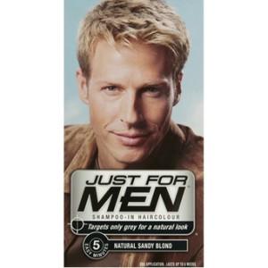 Modèle coloration cheveux homme blond