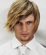 Mode pour femme : coloration cheveux homme blond