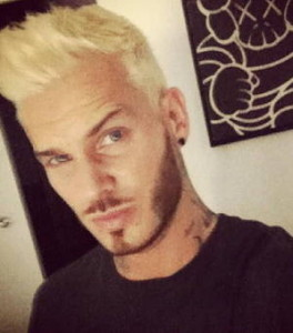 Inspiration coloration cheveux homme blond