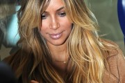coloration cheveux kim kardashian