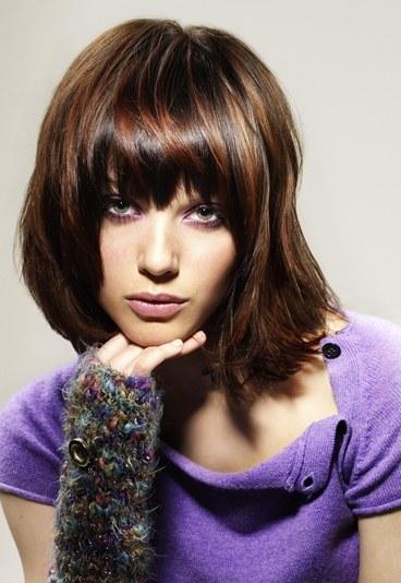 coloration cheveux marron