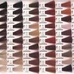 coloration cheveux nuancier
