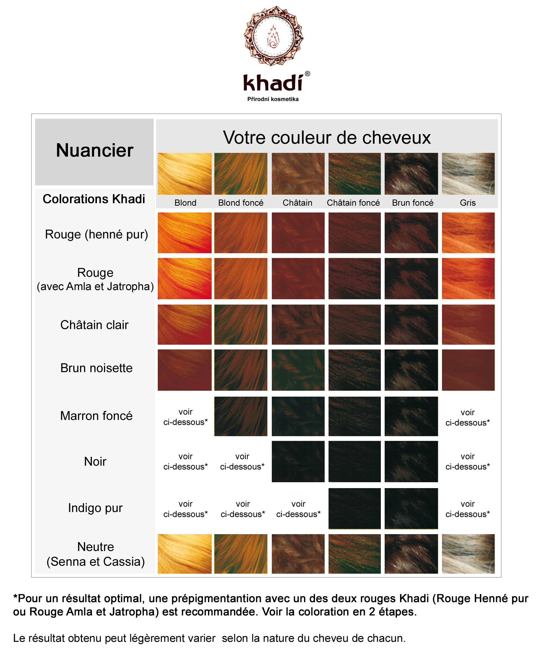 Nuancier Couleur Chocolat avec nuancier de couleur cheveux – ciabiz