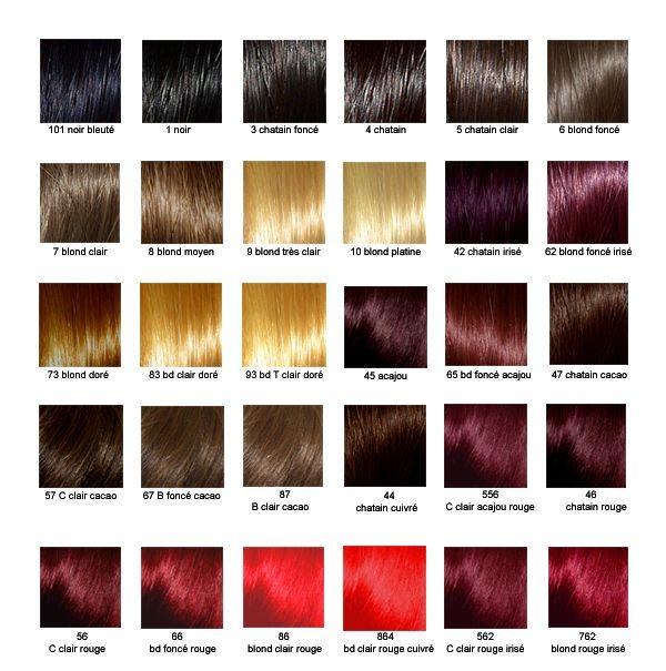 Couleur cheveux 6 3
