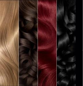 Mode pour femme : coloration cheveux olia