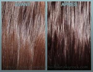 Belle coloration cheveux olia pour femme