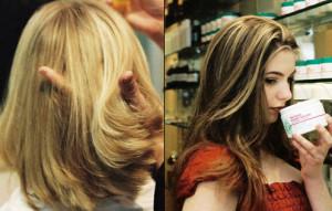 Exemple coloration cheveux oxydant