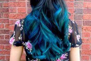 Belle coloration cheveux permanente pour femme