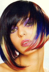 Inspiration coloration cheveux reflets