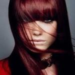 coloration cheveux rouge acajou