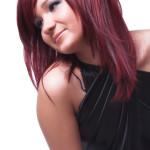 coloration cheveux rouge cerise