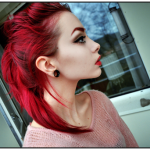 Coloration cheveux rouge cerise - Coloration rouge cerise ...