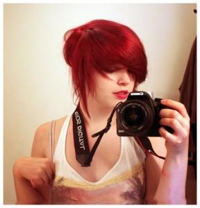 Idée coloration cheveux rouge vif