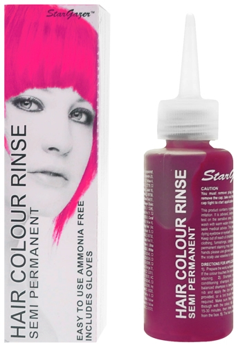 Couleur cheveux rose non permanent