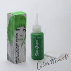 Idée coloration cheveux vert