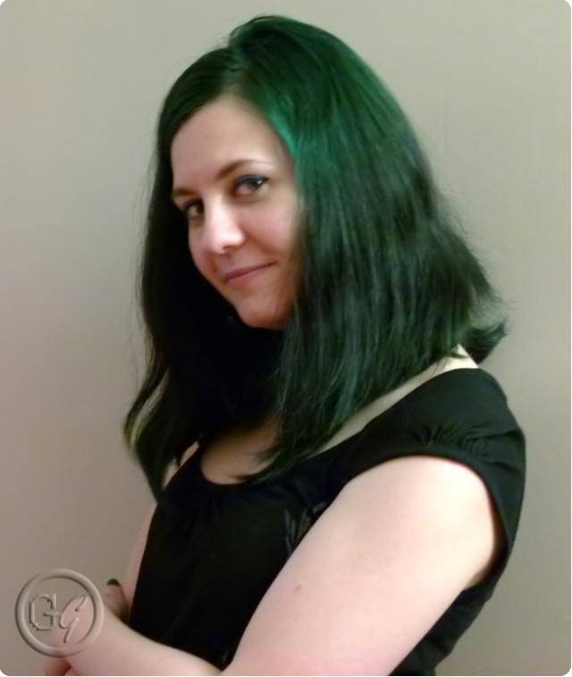 coloration cheveux vert