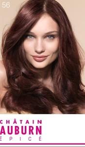 Idée coloration cheveux yeux vert
