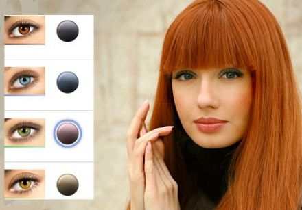 inspiration coloration cheveux yeux vert. Black Bedroom Furniture Sets. Home Design Ideas