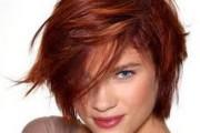 coloration cheveux yeux vert