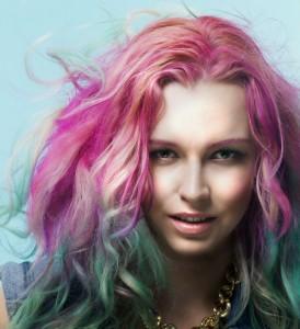 Modèle couleur cheveux a la mode