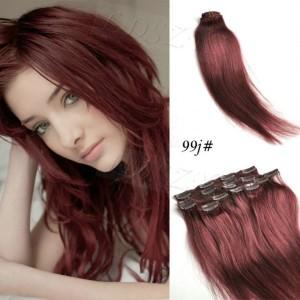 Inspiration couleur cheveux aubergine