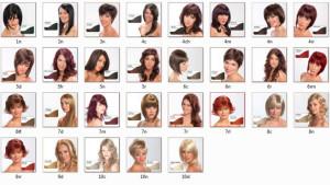 Modèle couleur cheveux bio