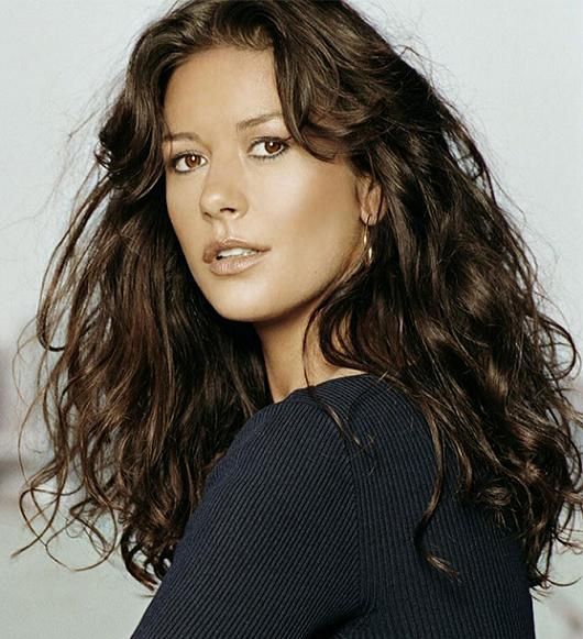 couleur cheveux catherine zeta jones