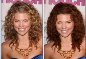 Exemple couleur cheveux gimp