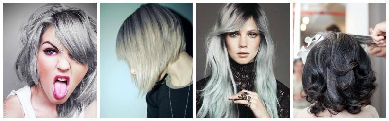 couleur cheveux gris