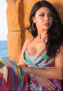 Tendance : couleur cheveux haifa wehbe