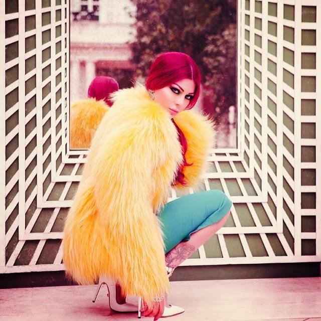 couleur cheveux haifa wehbe