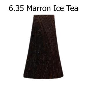 couleur cheveux ice tea
