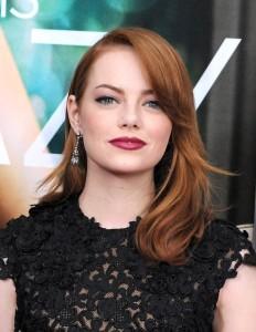 Jolie couleur cheveux roux