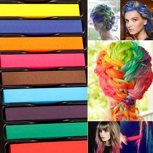 Exemple couleur cheveux temporaire