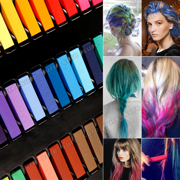 couleur cheveux temporaire