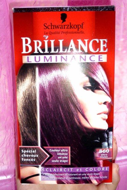 couleur cheveux ultra violet