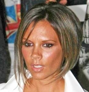 Mode pour femme : couleur cheveux victoria beckham
