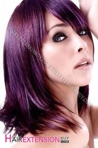 Idée couleur cheveux violet
